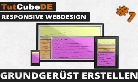 Responsive Webdesign – Grundgerüst erstellen
